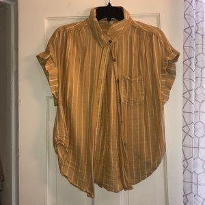Button up t shirt
